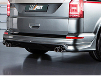 ABT Rear Lower Skirt With Quad Exhaust System - T6 T6.1 Tailgate
