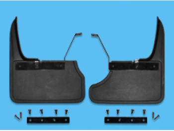Mud Flap Set Tailgate Rear VW T6 2015>