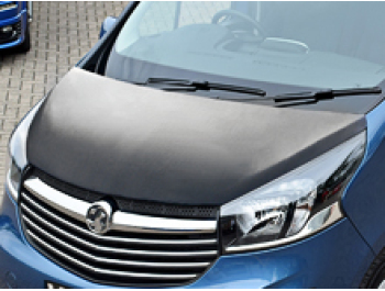 Vivaro 14>19 Talento/NV300 Plain Black Full Length Bonnet Bra