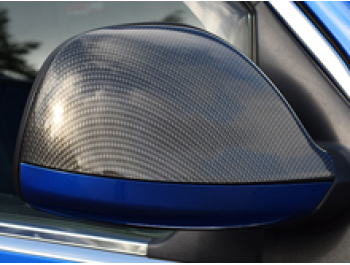 Carbon Effect Mirror Cover VW T5 10-15 & Amarok 10>