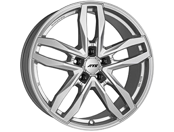 "ATS Temperament 5 20"" Silver VW T5 T6 Wheel & Tyre"