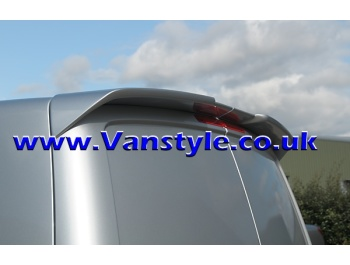 Rear Spoiler Twin Rear Doors, VW T5 & T6