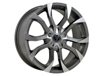 "Wolfrace Assassin Graphite 20"" Wheel Package Vivaro 5x118"