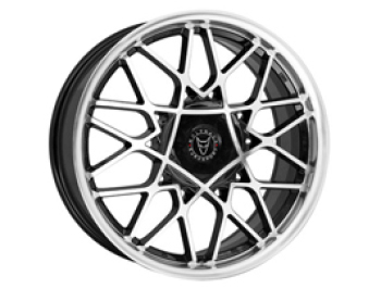 "Wolfrace Blitz 2 Gloss Black & Polished - Vito & T4 8x18"" 5x112"