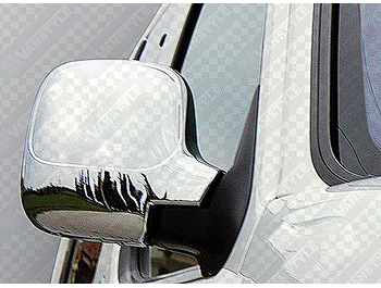 Chrome Mirror Cover Set Citroen Berlingo Peugeot Partner 1996-07