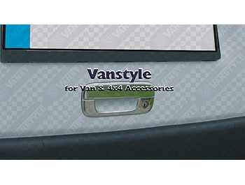 Door Handle Cover TAILGATE Stainless Steel - Berlingo Partner Va