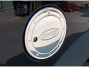 Fuel Cap Cover Stainless Steel - Ford CONNECT 2003-