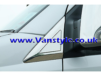 Door Quarter Panel Cover Set Stainless Steel - Sprinter Crafter