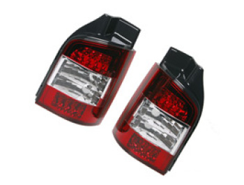 Rear Lamp Set, Clear / LED, Transporter T5 & Caravelle, 2003>09