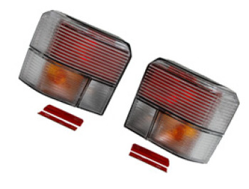 Rear Light Set, Frosted, VW Transporter T4 & Caravelle, 1990>03