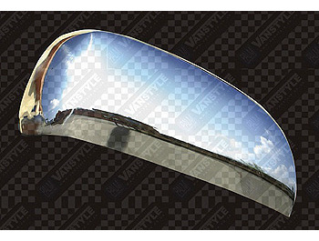 Stainless Steel Mirror Covers PAIR Rav4 Mk5 2005-on