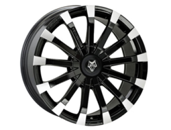Wolfrace Renaissance Black & Polished 20