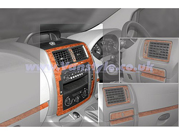 Dash Kit 1pc Console Scudo Expert Dispatch 01/2007-on