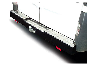 Rear Step Towing Bumper Black Sprinter Mk3/Crafter SWB/MWB/LWB