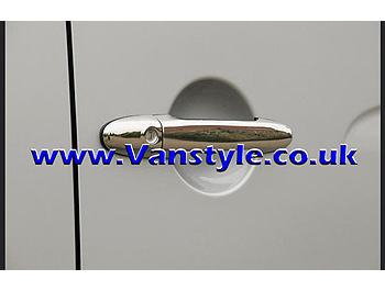 2 Door Handle Cover Set Stainless Steel - Sprinter/VW LT