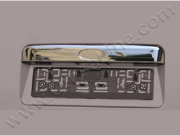 Stainless Steel Tailgate Handle Cover, Ford Transit, 2003>