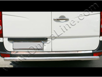 Stainless Steel Bumper Protector VW Crafter Mercedes Sprinter