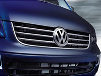 Cobra Chrome Radiator Grille VW T5 Caravelle- 2003-09