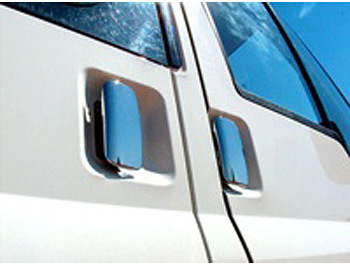 Door Handle Cover Set Stainless Steel - Ford Transit 2000-07