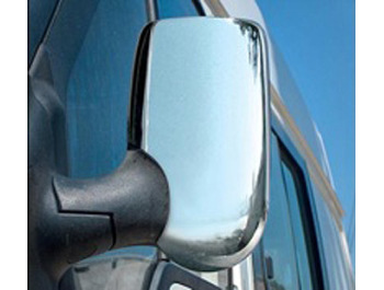 Chrome Mirror Cover Set Ford Transit 00-06 & 07-12