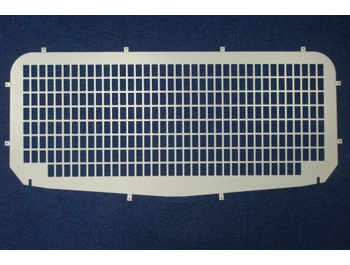 Tailgate Window Grille For The Ford Transit Connect