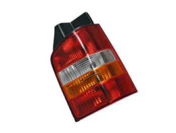 Rear Lamp, Amber Indicator, Twin Door VW T5 03-09 & 2010>
