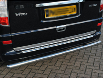 Tailgate Door Handle Cover Stainless Steel Mercedes Vito