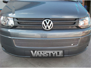 Vanstyle Sport Stainless Steel Full Mesh Grille Set VW T5 2010>
