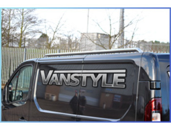 Stainless Steel Polished Roof Rail - Trafic NV300 Vivaro Talento