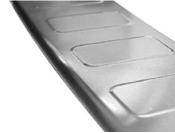 Brushed Stainless Steel Rear Bumper Protector - Vivaro L1 2019>