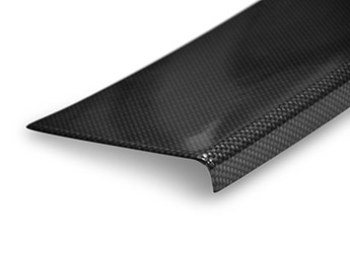 ABS Rear Bumper Protector - Carbon Effect - Crafter/TGE 2017>