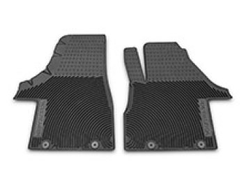 Genuine VW Heavy Duty Front Rubber Mats - Pair