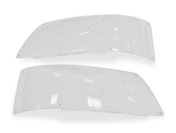 Genuine VW T5 Acrylic Headlight Protectors - 2003 - 2009