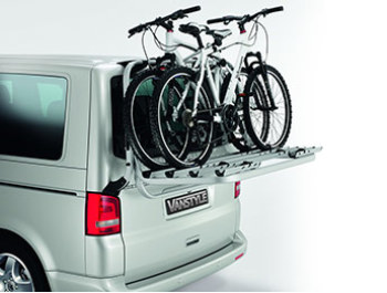 Genuine VW T5 - 4 Bike Bicycle Rack for Tailgate Models