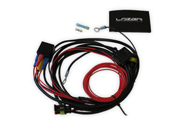 Lazer - 2 Light Wiring Harness w/ Splice - ST and Triple-R Range