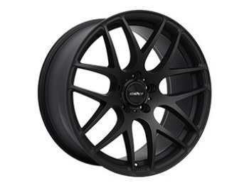 "Calibre Exile-R 18"" Matte Black Alloy Wheels & Tyres"
