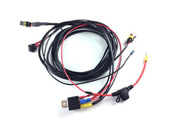 Lazer - 2 Light Wiring Harness w/ Switch - ST and Triple-R Range