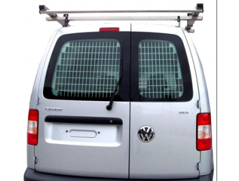 Volkswagen Caddy 04-10 & 2010> Twin Door Window Grilles