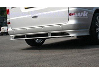 XP Sports Rear Bumper Spoiler Vito/Viano 2001-07 Long, XLong
