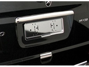 Grab Handle Cover (TWIN REAR DOORS) - Stainless Steel Vito Viano