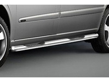 Side Bars 60mm (with Steps) Cobra SWB & LWB Vito 03-14 & 14>