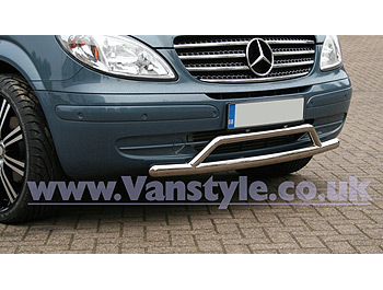 Lowrider Front Bar Stainless Steel Mercedes Vito 03-10