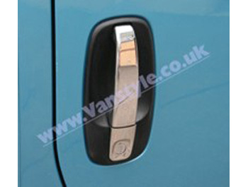 Door Handle Cover Set Stainless Steel - Vivaro Trafic Primastar