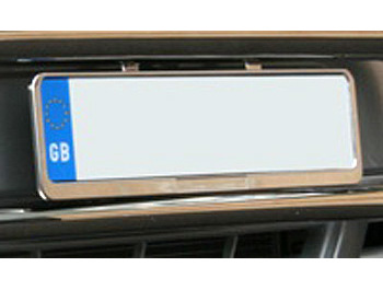 Stainless Steel Number Plate Holder