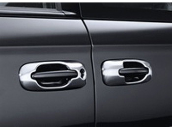 Chrome Handle Cover Set 4 pcs Voyager MK2 & 3 2001-07