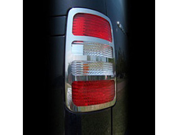Rear Light Cover Set Stainless Steel - VW Caddy