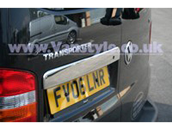 Rear Grab Handle Cover Stainless Steel, VW T5, Twin Rear Door