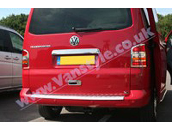 Tailgate Door Handle Cover Stainless Steel - VW T5 Transporter