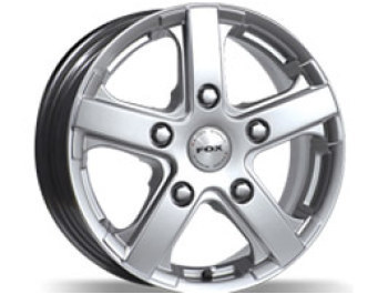 Viper Van Wheel 18x7.5 Super Silver Set of 4 - 5x160 Ford Tansit
