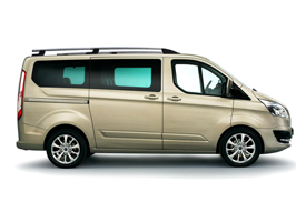 Ford Transit Custom Aluminium Roof Styling Bars 2013>